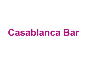 Casablanca Bar Logo