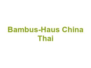 Bambus Haus China Thai In Auerbach Vogtland
