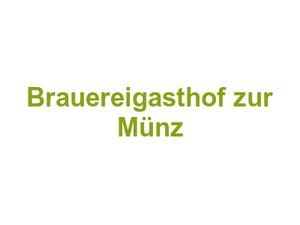 Brauereigasthof Zur Münz In Günzburg