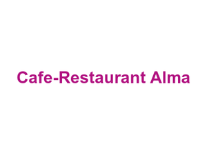 Cafe-Restaurant Alma Logo