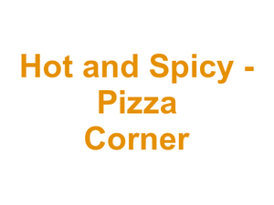Hot and Spicy - Pizza Corner Logo