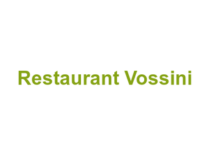 Restaurant Vossini Logo